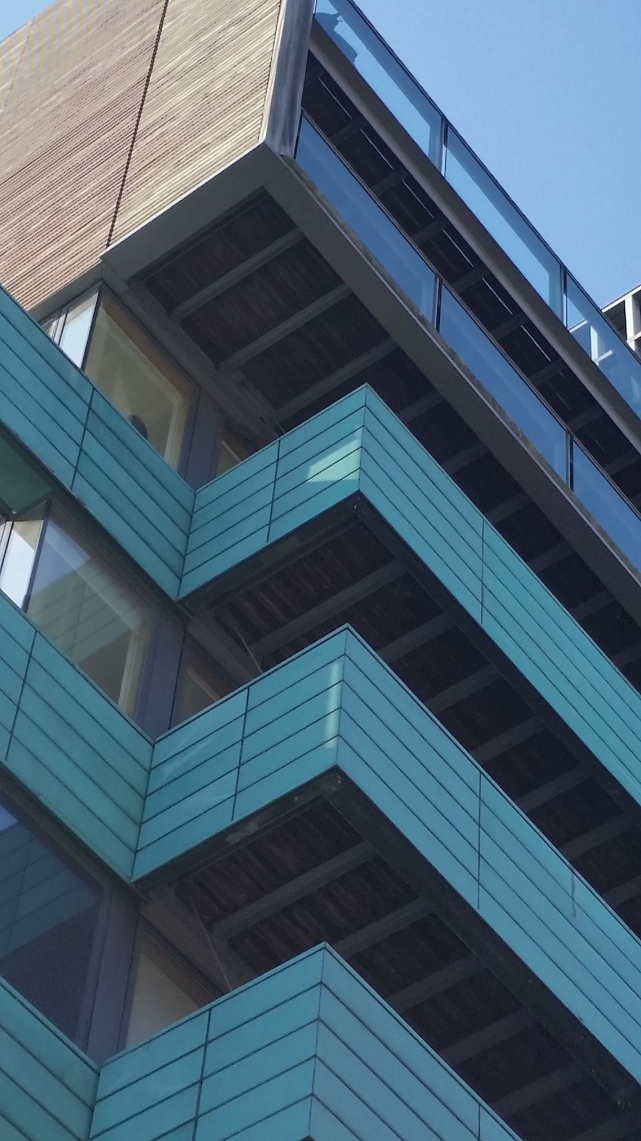 Architecture Building Exterior Sky Blue Hoxton London Lifestyle