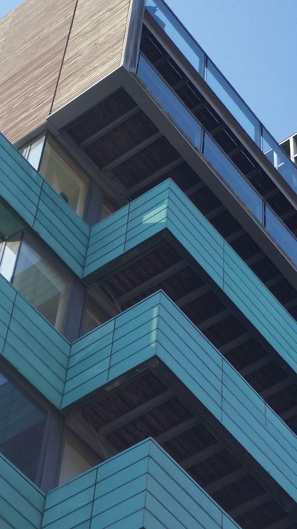 Architecture Building Exterior Sky Blue Hoxton London Lifestyle