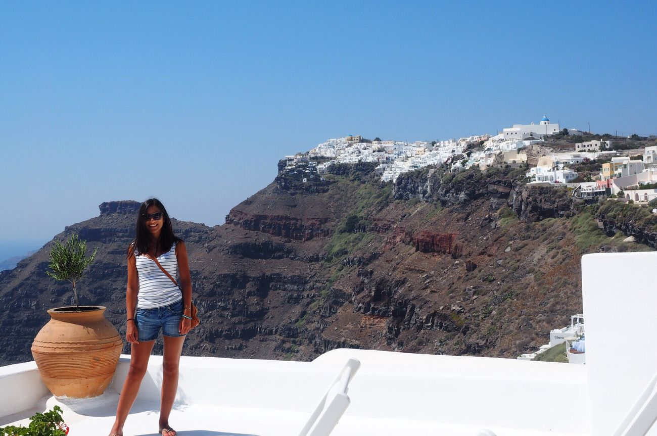 Travels Santorini, Greece SANTORINI. ELLADA Best Time Beauty Take Me Back I Miss Summer Greek I'll Be Back