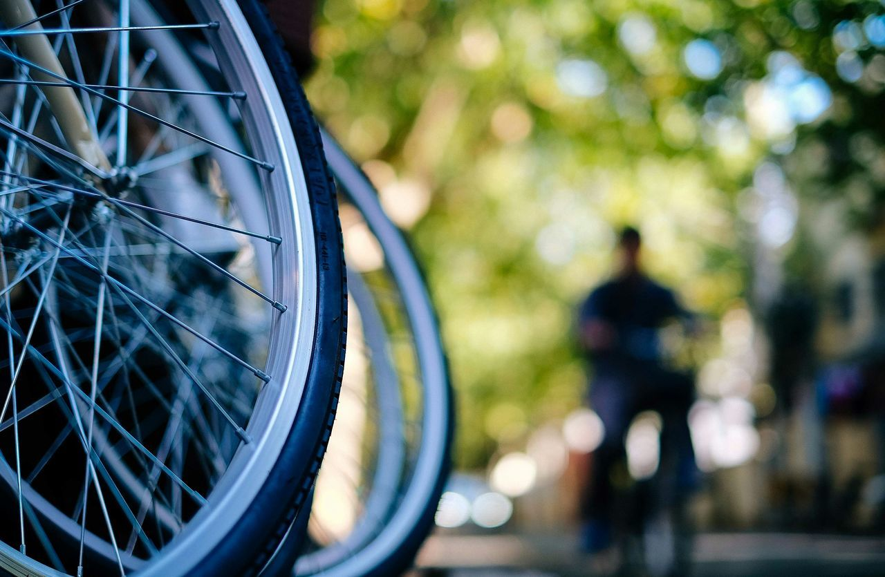 Beautiful stock photos of bike, Bicycle, Cropped, Day, Focus On Foreground