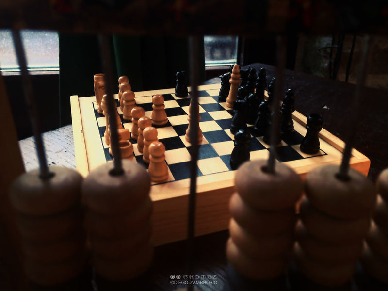 """➲ """"CHECK MATE"""" - Playing chess in Pergola, Marche (ITALY) iPhone 5 - 4.12mm f/2.4 - 4.1mm - 1/20s - ISO 50 Blurred Capture Checkmate Chessboard Chessgame Chesspieces Closeup Colors Diegodambrosio69 Exploretocreate Focus On Background Gameoflife Gameoftones Indoor Photography IndoorPhotography Iphoneonly Iphonephoto Iphonephotography Iphonephotooftheday Man_di_ego62 Moment Playing Games Stillife StillLifePhotography Visualsoflife"""