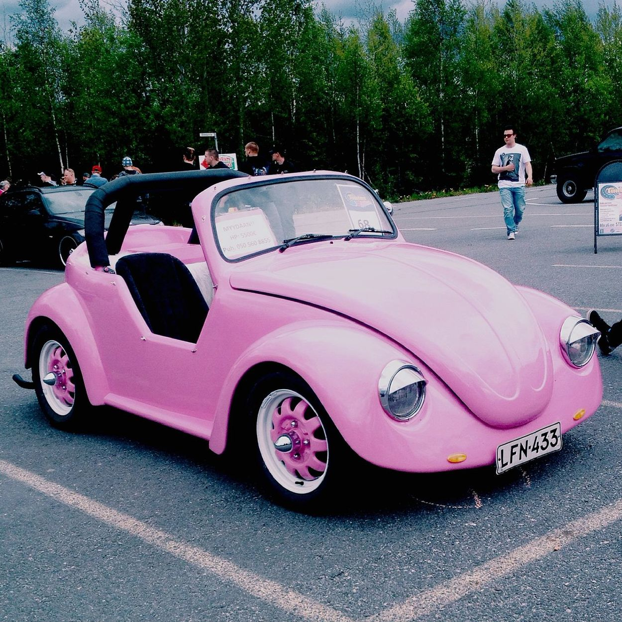 I love this car so much 💕 Car Pink Finland