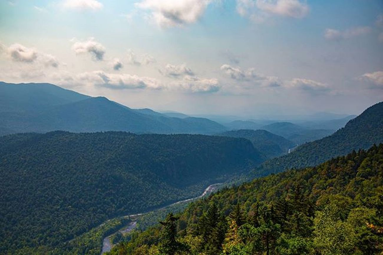 Whiteface ADK Adirondacks Forest Mountains Clouds