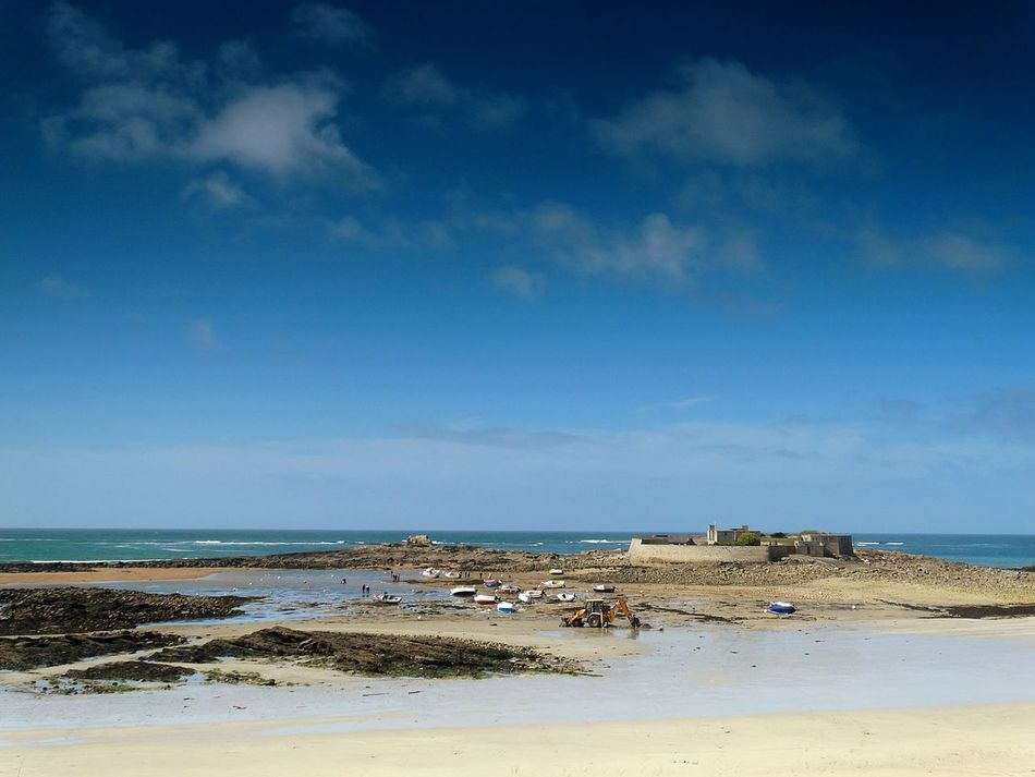South Coast of Brittany. Sea Beach Sand Sky Water Nature Tranquility Outdoors Horizon Over Water Cloud - Sky Beauty In Nature Day No People Bretagne Breton Bretagne France Bretagnetourisme Bretagne-Sud Bretagne Shore Bretagne Coast France