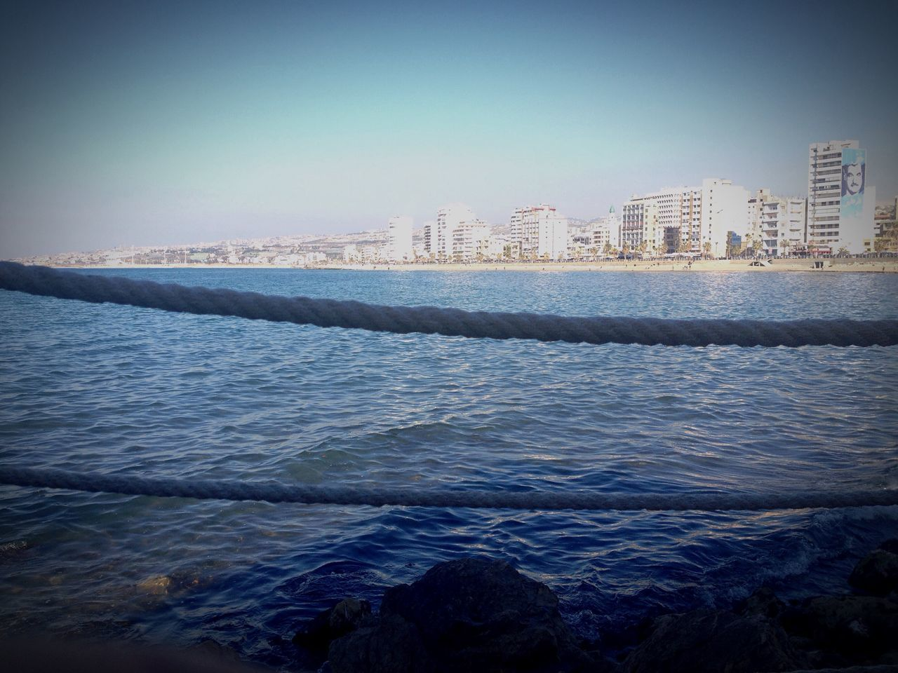 Open Edit Ropes Mediterranean Sea East Mediterranean Shades Of Blue Cityscape Sidon Lebanon