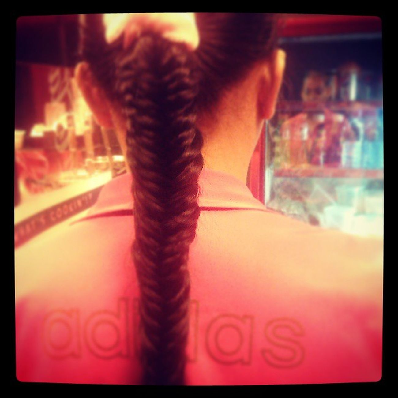 Fishtail... :) Mylonghair