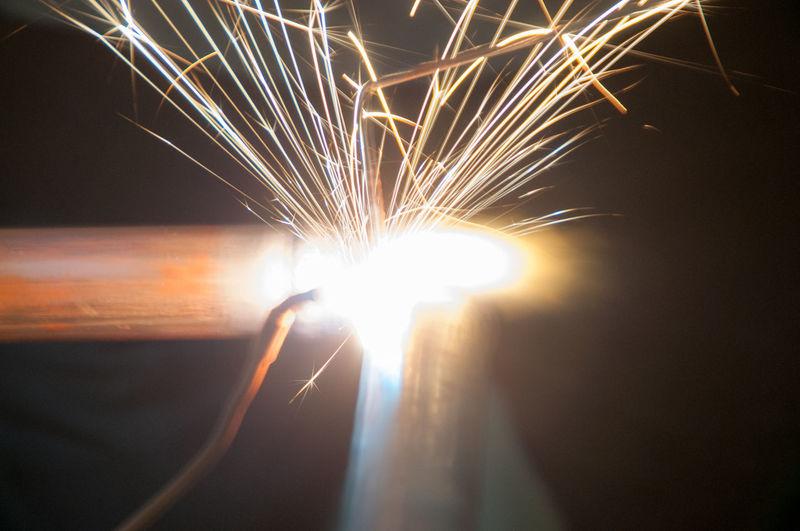 Fire Flame Glasses Glowing Heat Heat - Temperature Pipe Precision Sparkle Welding