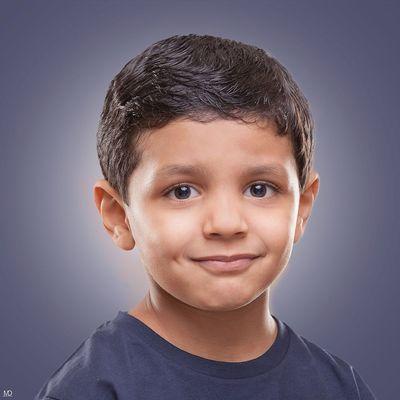 Cute Model Portrait Kids