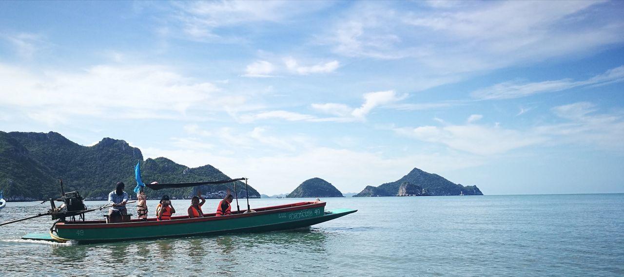Unseenthailand Pranburi Bangpoo Seaside 🏖🏝🌅🌞🌝☉🌴 Beach Pram Pontoon Boat Nature หาดบางปู ประจวบคีรีขันธ์ สามร้อยยอด