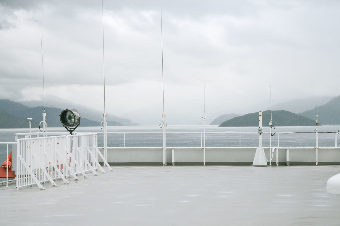 Boat Cloudy Cold Cold Temperature Connection Deck Ferry Interislander Journey Marlborough Sounds Nature New Zealand Outdoors Picton  Scenery Ship Sky South Island Storm View Weather
