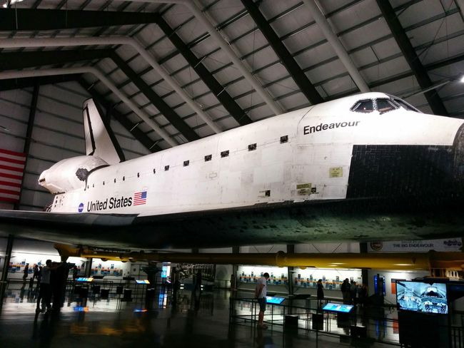Blastoff SpaceShip DowntownLA Rocket Endeavour