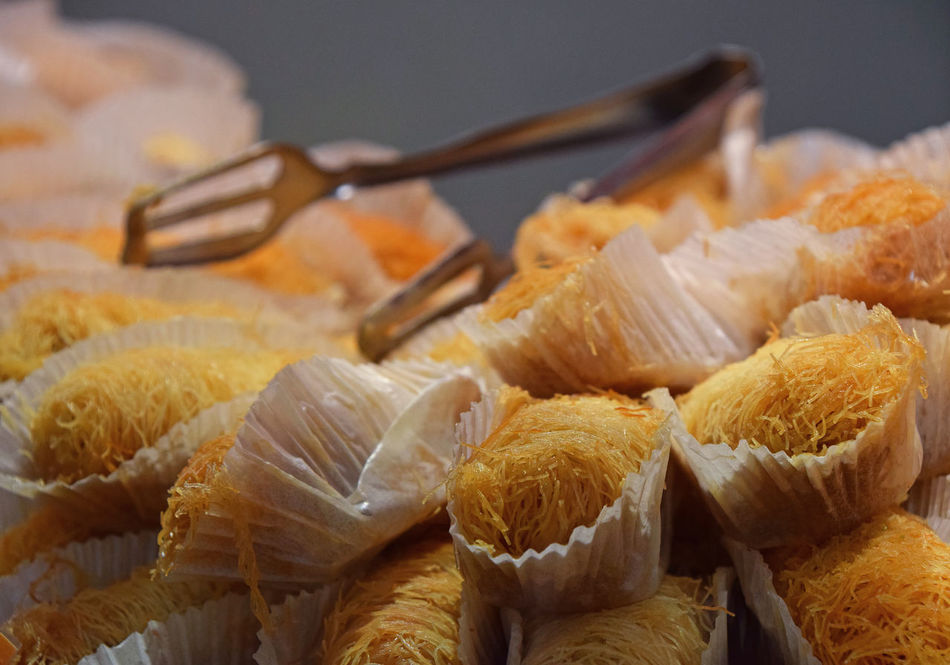 Tempting baklava at retail market, turkish sweets Arabic Baklava Close-up Cookies Cuisine Desert Dessert Food Food And Drink Healthy Eating Large Group Of Objects Market Middle East Ready-to-eat Retail  Retail  Retail Display Sweet Food Sweets Sweettooth The Shop Around The Corner Traditional Turkish Turkish Sweets