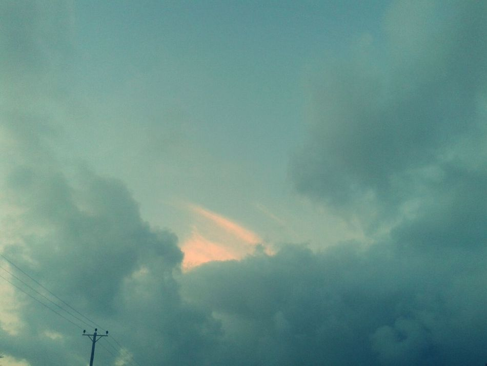 Hopeful :) Clouds And Sky Cloudporn Morning Sky in Azzawya #Libya