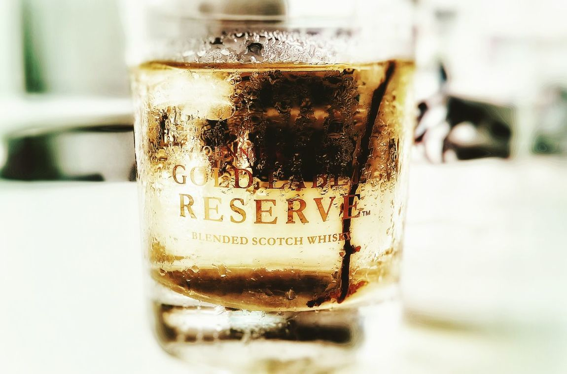 It not GOLD LABEL, it ice tea Ice Tea Gold Label Affternoon