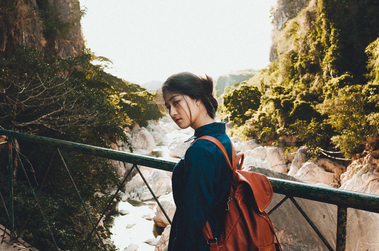 Asian  Color Portrait Colors EyeEm Best Edits EyeEm Best Shots Eyeem Philippines Mountain Nature Outdoors Portrait The Portraitist - 2016 EyeEm Awards Woman Valley River Bridge The Week On EyeEm The Portraitist - 2017 EyeEm Awards