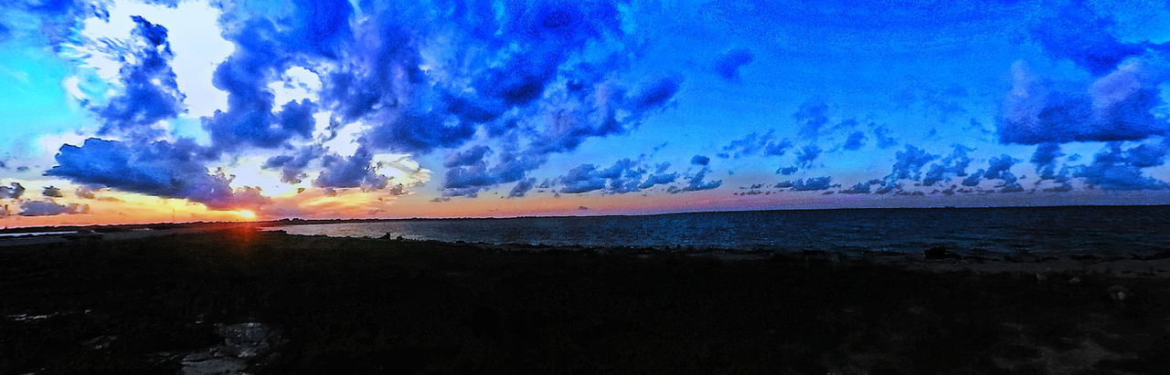 Atmospheric Mood Beach Beautiful Nature Beauty In Nature Cloud Cloud - Sky Cloudscape Dramatic Sky Galveston Bay Majestic Moody Sky Ocean Outdoors Power In Nature Scenics Sky Sunset Texas Texas City Texas City Dike Tranquil Scene Tranquility