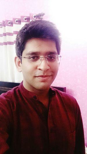 Indian Ethnic Fashion Kurta Tired Puffy Eyes... Smiling