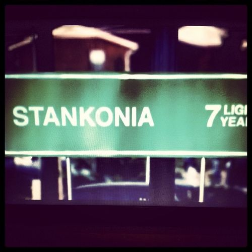 """""""Power music. Electric revival"""" ... Stankonia is never far away ... Stankonia BombsOverBaghdad OutKast"""