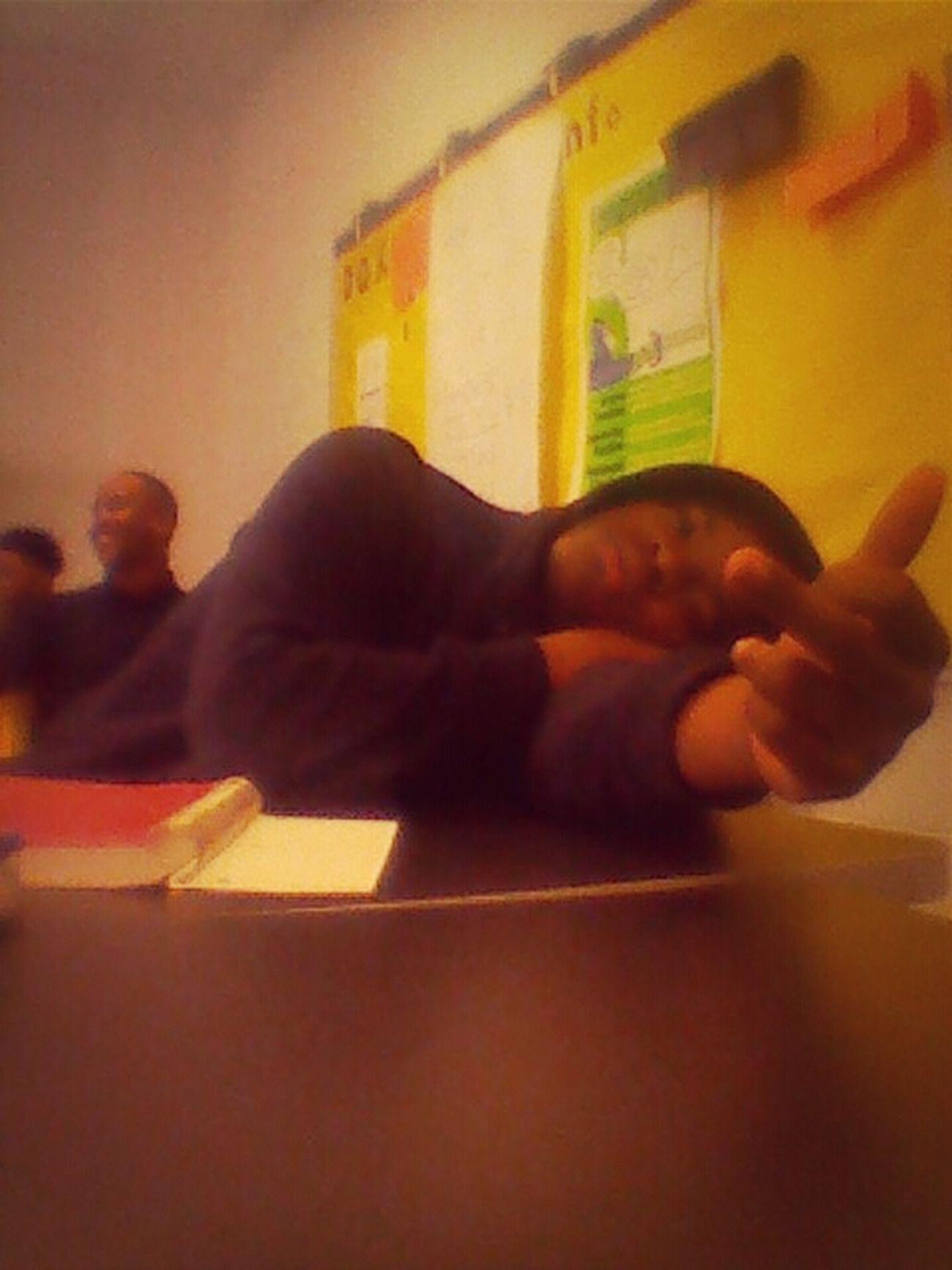In class.