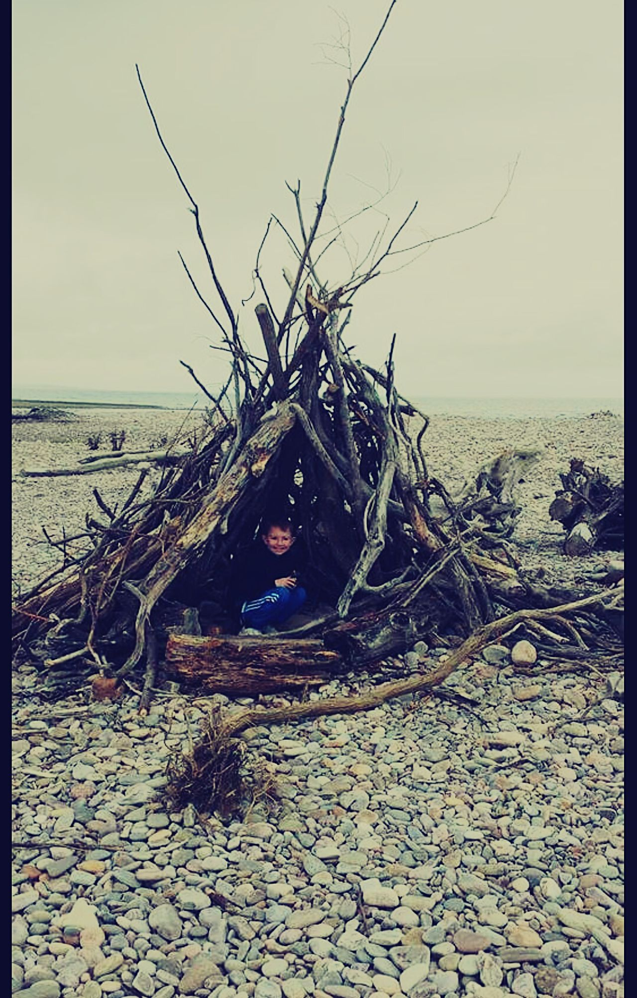 Pebbles On The Beach Teepee Funtimes Driftwood Spey Bay