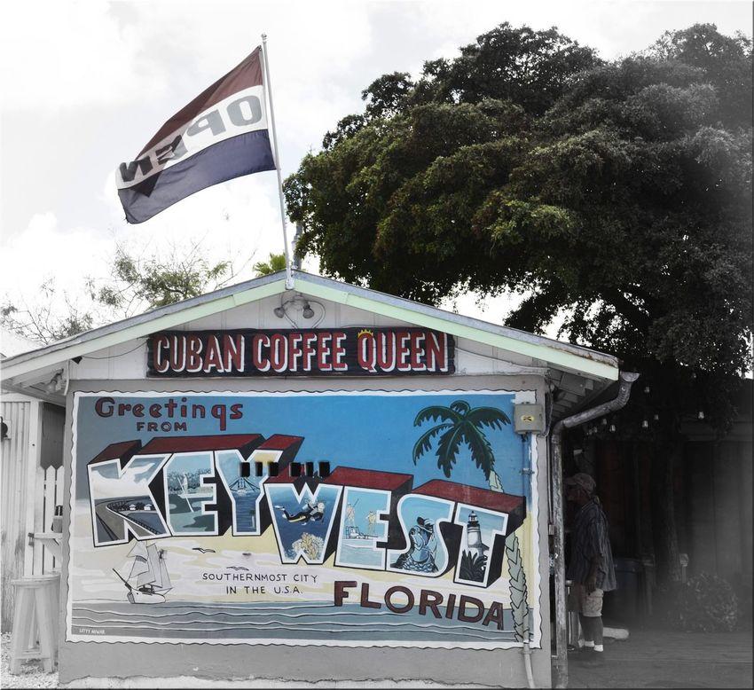 Cuban Coffee Queen Key West FL Keywest Keywestflorida Summer Coffee Cubancoffeequeen Cubancoffee Local USA