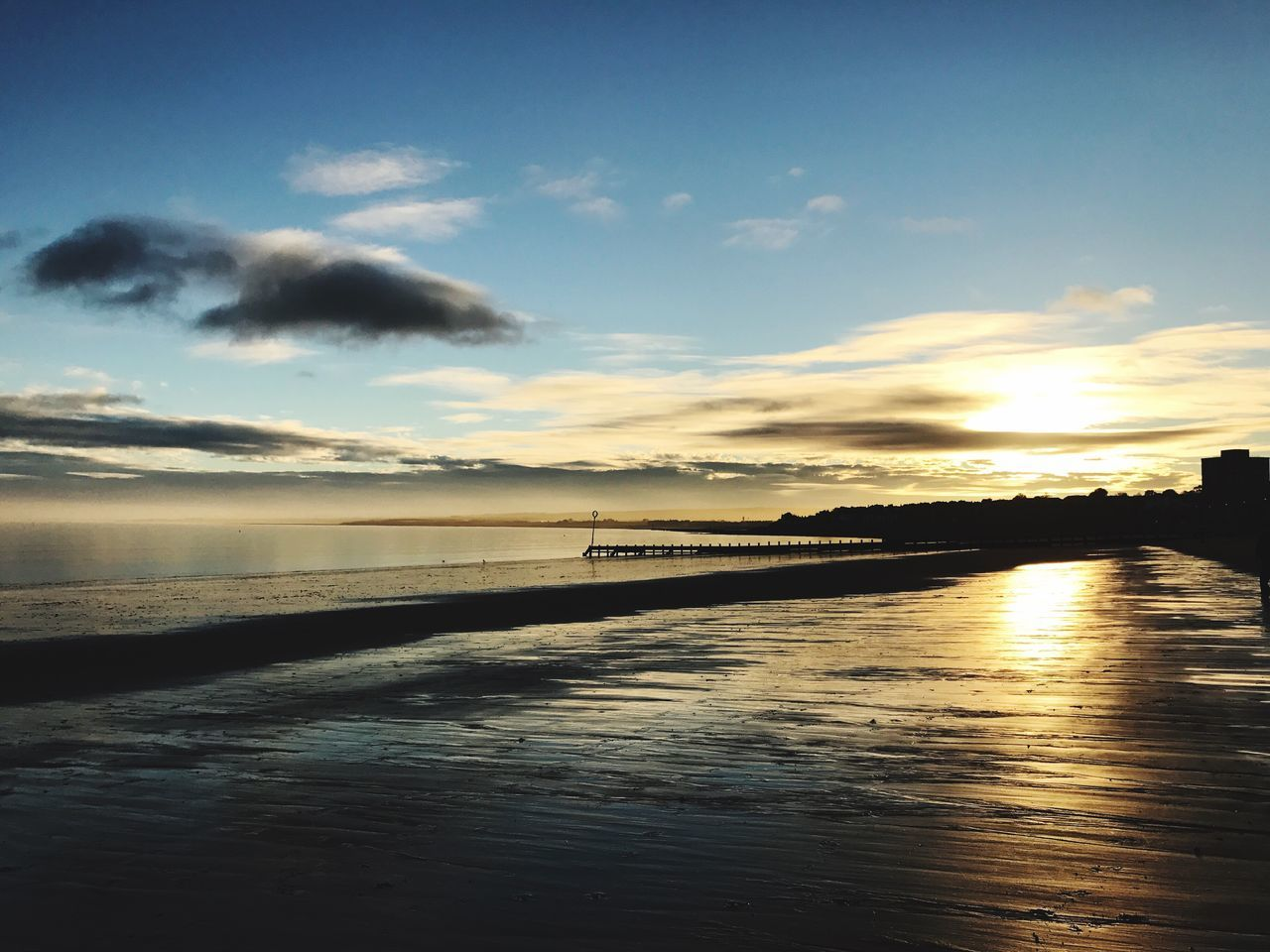 Sunset #sun #clouds #skylovers #sky #nature #beautifulinnature #naturalbeauty #photography #landscape Portobello Beach, Edinburgh Beachphotography Horizon Over Water EyeEm Best Shots Sunrise_Collection Sunrise_sunsets_aroundworld