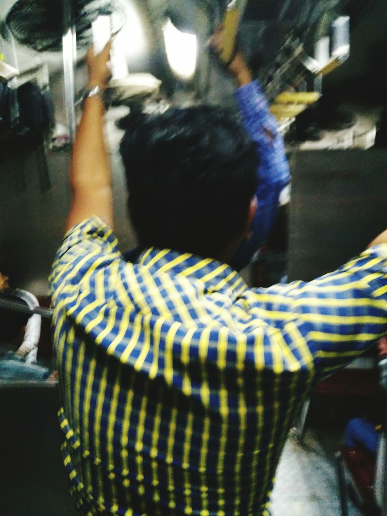 In Side A Train Compartment