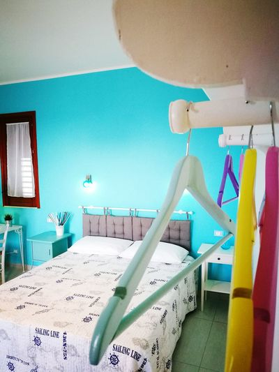Interior Design Bedroom Relaxing Turquoise Colored Mediterranean  Holidays Pastel Colors VintageWardrobe HuaweiP9 ColorPalette