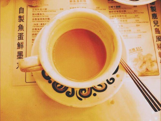 At Tsui Wah Restaurant 翠華餐廳 Hk Hk Milk Tea 旺角卡門 《旺角卡門》你不要說兩次,說兩次我就相信了。