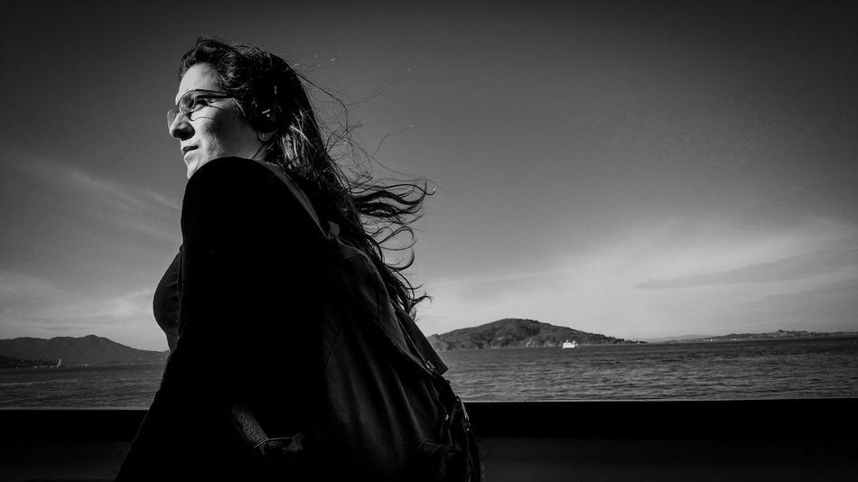 Deep thoughts over deep waters Blackandwhite Photography San Francisco Bw_portraits Photooftheday Beautiful Bw_society Bw_life Bw_love Photography Is Life