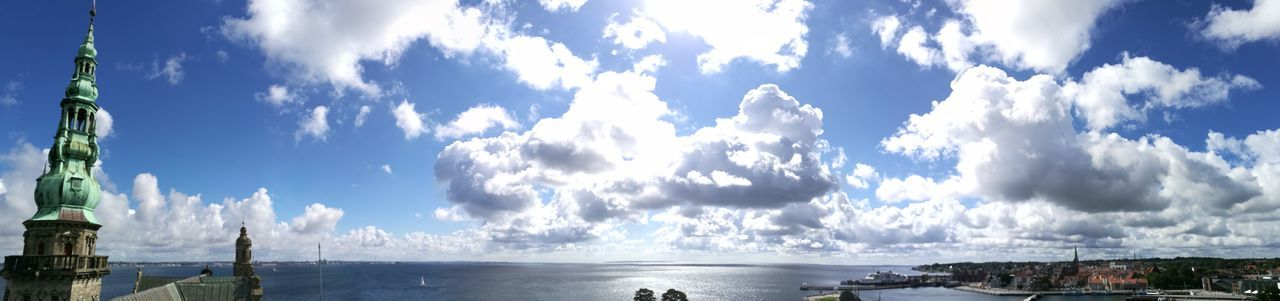 Cloud - Sky Water Outdoors Nature Day Blue Sea No People Landscape Panoramic Denmark 🇩🇰 Sweden