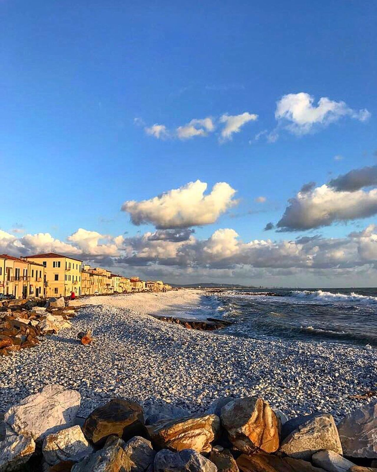 Sea Sunset Sky Cloud - Sky Colors Beach Tranquility Igers Like4like Likeforfollow Horizon Over Water Tuscany Italy Igersitalia Volgotoscana Igerspisa