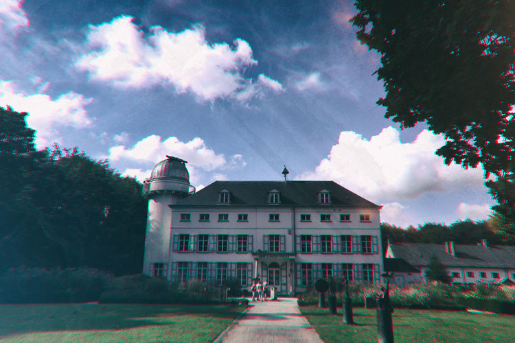 Architecture Being Creative Beisbroek Castle Building Exterior Built Structure Diminishing Perspective Extreme Edit Façade Formal Garden My Art, My Soul... My Unique Style Pathway Planetarium Popular Photos Solitude Sony ILCA-68K Taking Photos The Way Forward Walkway