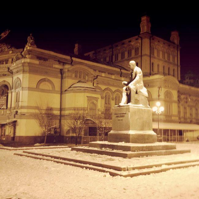 Lonely Cold Night Kiev