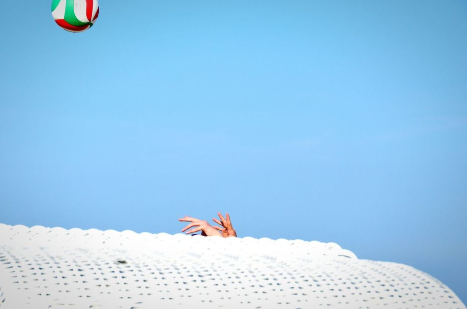 Beautiful stock photos of volleyball, Beach Volleyball, Blue, Ceiling, Clear Sky