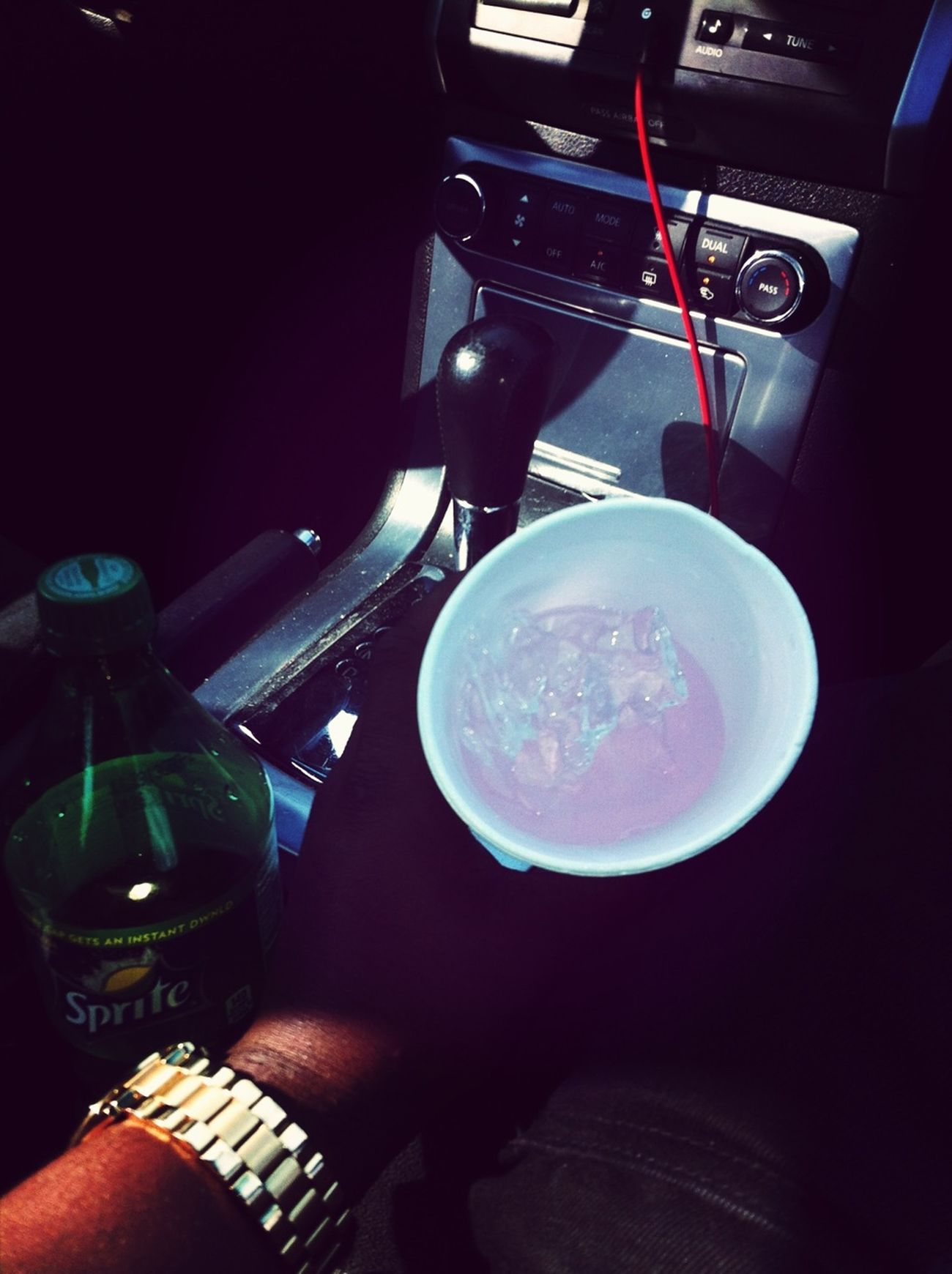 Got damn that boy drink muddy American Gangster