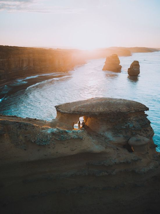 Sea Nature Water Beach Sand Beauty In Nature Scenics Sky Men Day Real People Wave Outdoors Horizon Over Water Two People Couple Mammal People Dji DJI Mavic Pro Drone  Sunrise Perspectives On Nature