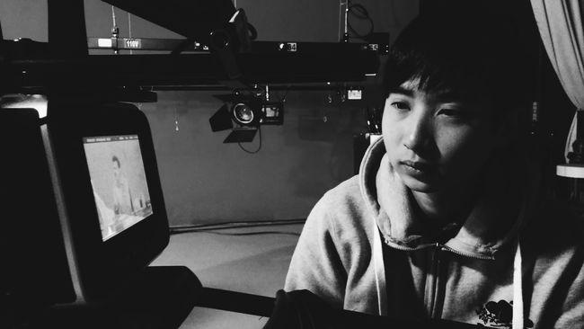 Snapshot Taking Notes Working Black And White