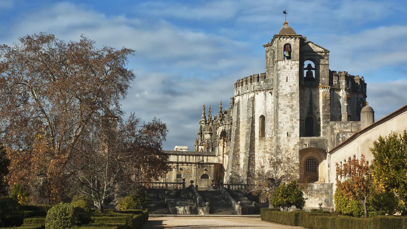 Architecture Cloister Convento De Cristo History Portugal Religion