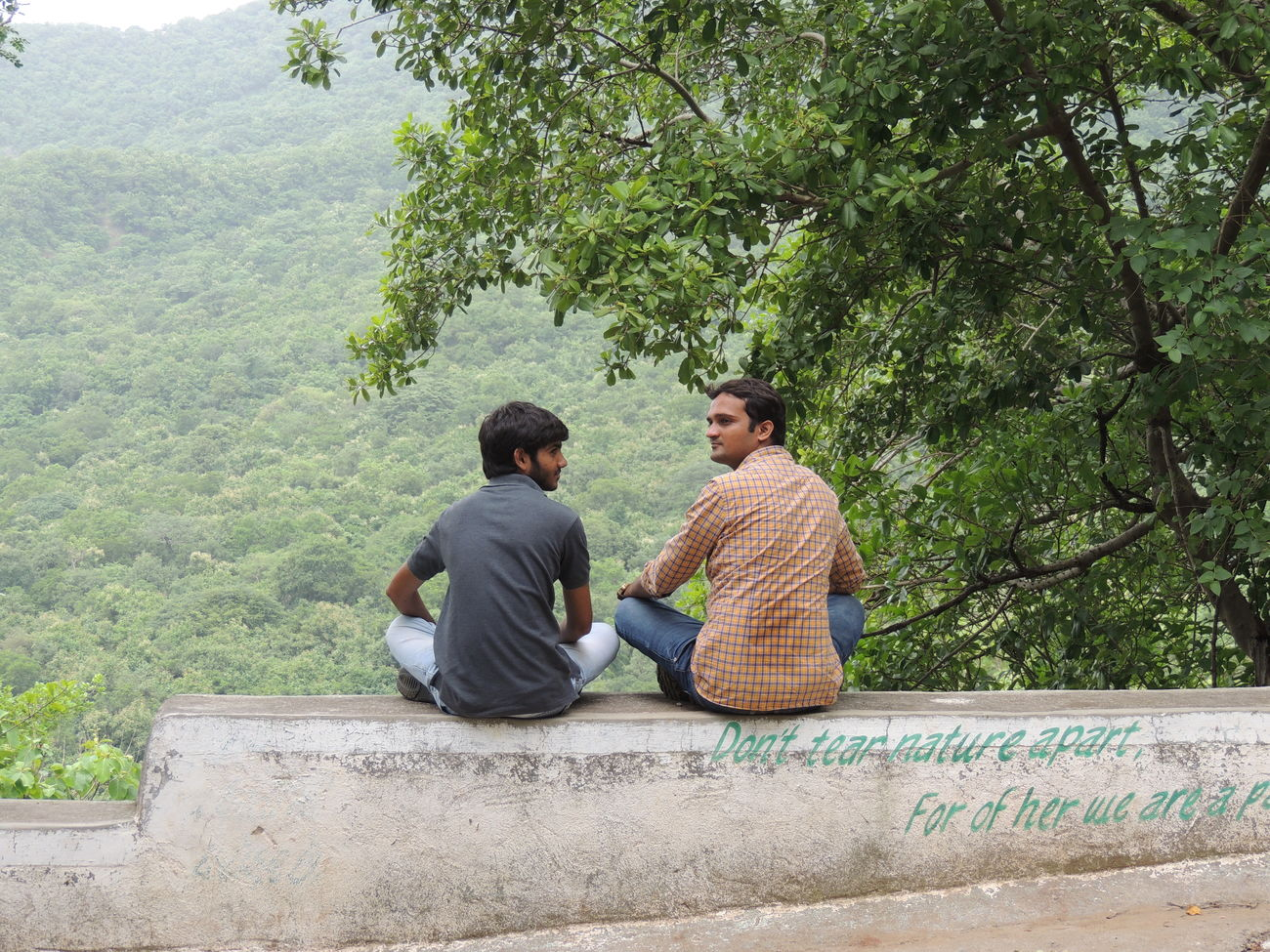 Brothers For Life Close-up Day Happiness Jungle Trekking Perfect View Sitting Without Edit ^^