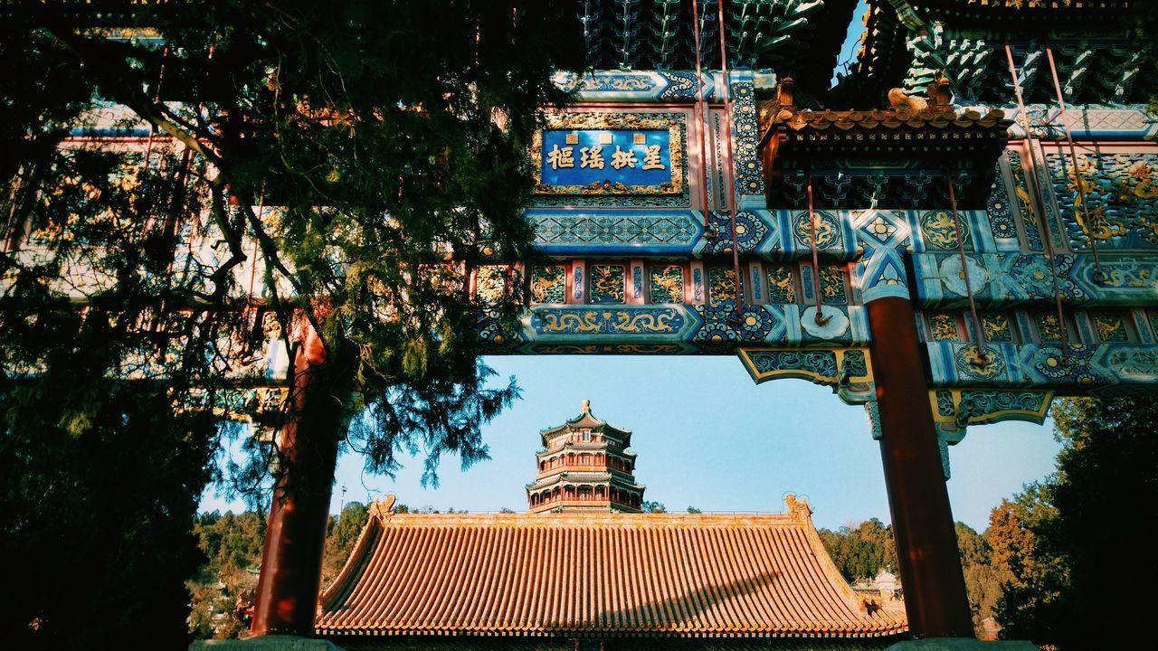 Beijing Summer Palace Winter