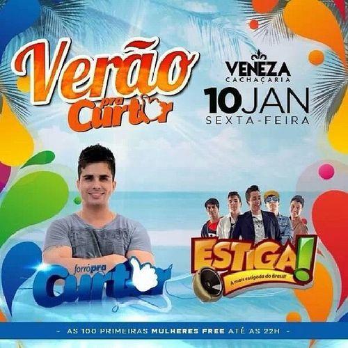 Sexta-feira início do fim de semana Estigado com @forronaestiga no @venezabancarios VemVeneziar