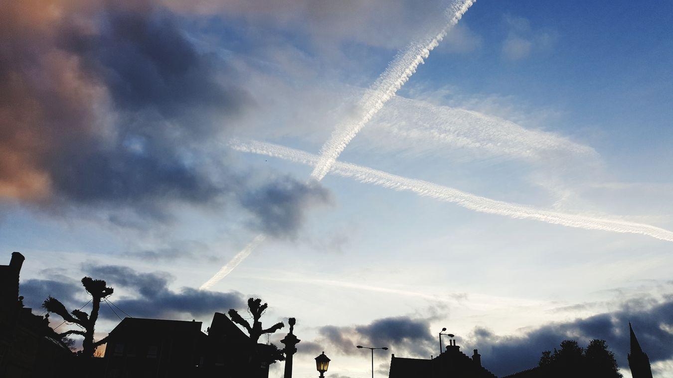 Saltire Cloud Outdoors Cloud - Sky No People Silhouette