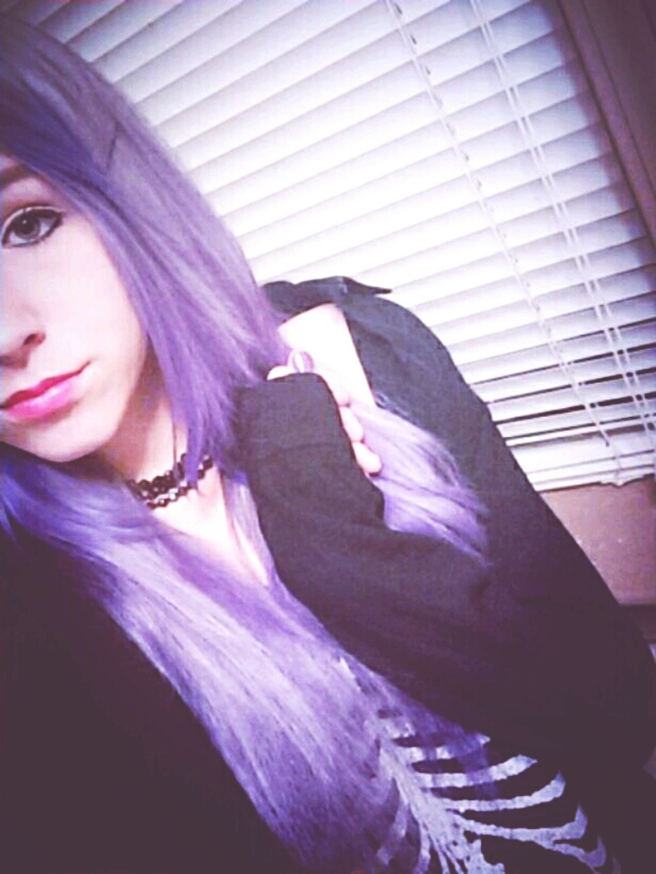 Pastel Purple Hair Dont Care Taking Photos That's Me