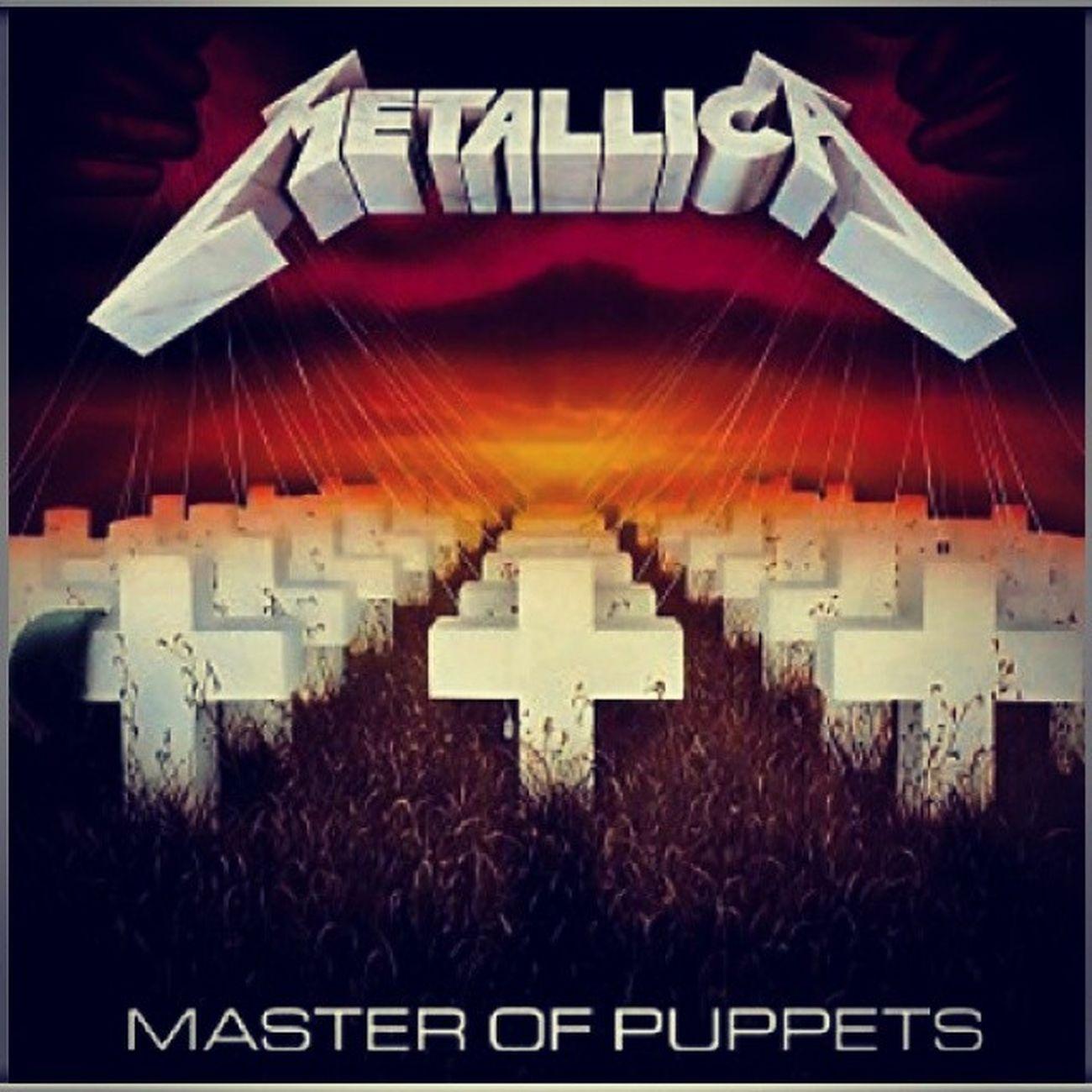 Metallica JamesHetfield Roberttrujillo Kirkhammett larsulrich masterofpuppets love favoriteband