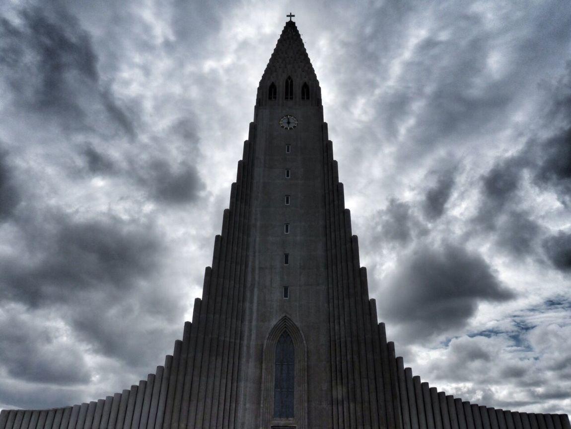 Symmetrical Hallgrimskirche Island Reykjavik First Eyeem Photo