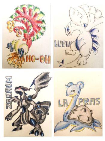 ポケモン Pokémon Illustration MyDrawing 次はどのポケモン描こうかなー(^o^)?