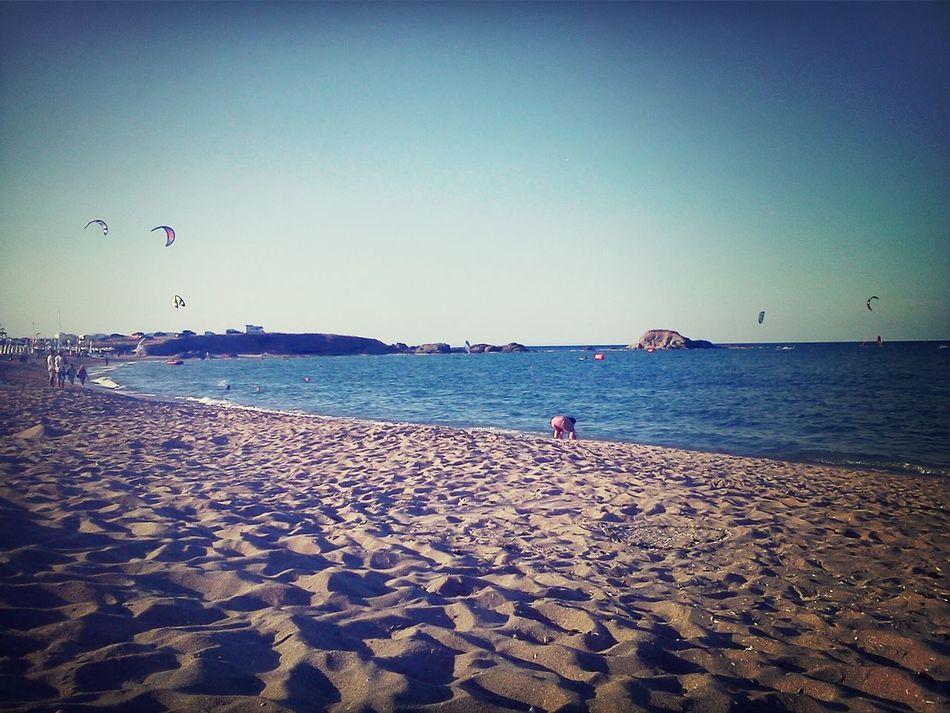 Seaside Holiday Enjoying Life