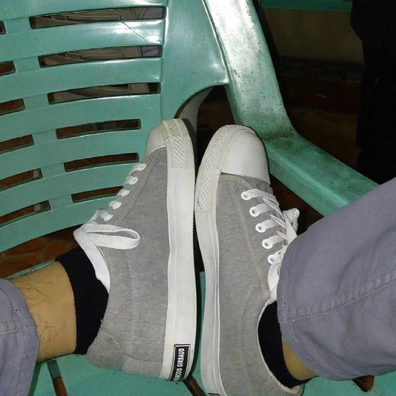 Late Upload. Marithe' Francois' Girbaud sneakers. 👟Girbaudph