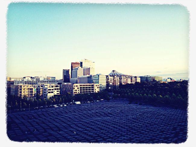 Berlin View On Potsdamer Platz Stelenfeld Never Forget